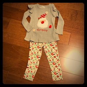 Brand new girl's Christmas outfit
